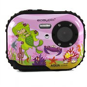 Easypix W318 Bubble Belle Childrens Underwater Camera - Pink