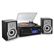 Auna DS-2 Stereo Turntable Record Player USB MP3 Recording