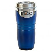 Brugo Thermal Travel Mug for Coffee and Tea - Cobalt Blue