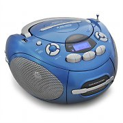 Majestic AH-1287 Portable Cassette Recorder CD Player