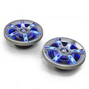"Auna CS-LED4 4"" Inch Car Speakers 500W with Blue LEDs"