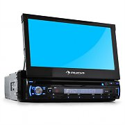 "Auna DTA90 In-Car DVD Player Stereo Radio 7"" LCD Screen"