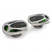 "Treefrog TF-653 6x9"" Car Speakers 800W Frog-Green"