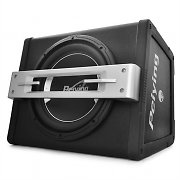 "Peiying BA300X Active Car Audio Subwoofer 12"" 500W"