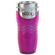Brugo Thermal Travel Mug for Coffee and Tea - Passion Purple