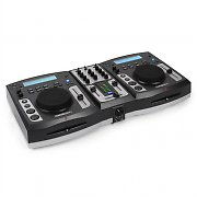 iScratch Mobile DJ Controller Dual CD Player USB SD MP3