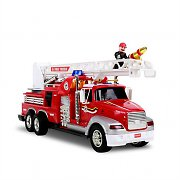 Takira Kids Remote Controlled Fire Truck with Water Spray Ladder