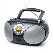 Muse M25-RD Portable CD Player Radio Boombox USB MP3 Black