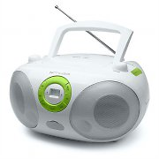 Muse M25-RDW Portable CD Player Radio Boombox USB-MP3