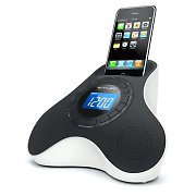 Muse M105-IP Alarm Clock Radio iPhone iPod Speaker Dock AUX