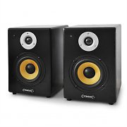 Citronic ST-6 Powered Studio Speakers - Near-Field Monitors 