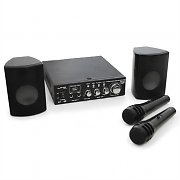 LTC Karaoke Star 2 PA Vocal Speaker Amplifier System 2 x 50W