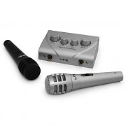 The LTC KSM-10 Karaoke Singing Microphone System with Pre-Amp Mixer