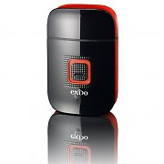 Exido Care Mens Rechargeable Electric Shaver USB Black/Red