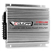 Cougar C400-4 4-Channel Car Amplifier USB MP3 1200W