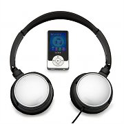 Denver MPG-2044WH MP4 MP3 Player 4GB and Headphones White