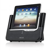 Akai ASB-8i iPad iPhone iPod Speaker Dock Docking Station