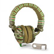 Skullcandy G.I. Over Ear HiFi DJ Headphones - Striped