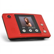 Trevi VME30 Digital Video Memo Recorder 1.5&quot; Display Red