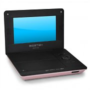 Sigmatek BDP-700 Portable DVD Player 7&quot; USB SD Pink