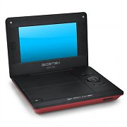 Sigmatek BDP-700 Portable DVD Player 7&quot; USB SD Red