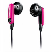 Philips SHH1216 In-Ear Headphones Earphones 4 Colour Caps