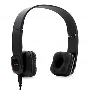 Auna KUL-01 Black Wireless Bluetooth Headphones with Built-In Microphone