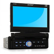 "Denver CAT-730 Car DVD Player with 7"" LCD TouchScreen USB SD"