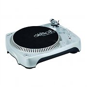 Omnitronic DRT-1000 DJ Turntable Vinyl Deck USB SD Recording