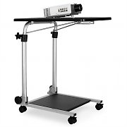 Auna TS-1 Adjustable 2 Level Projector Trolley Table with Casters
