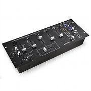 Ibiza DJM90USB 4-Channel DJ Mixer USB SD MP3 AUX XLR
