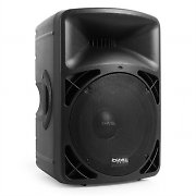 "Ibiza Pro 15A-BT Active 15"" PA Speaker Mobile Disco USB SD MP3 400W"
