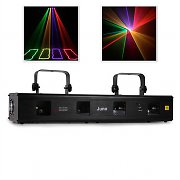 Beamz Juno 4-way 4 Colour DMX Disco Club Laser Light