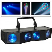 Beamz Majestics Pro 180 DMX Disco Light LED Stage Lighting Effect