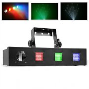 Beamz Fusion Tri Fix Bar DMX Disco Light LED Stage Lighting Effects