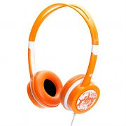 iDance Free 20 Portable Orange Headphones