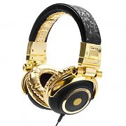 iDance Disco 100 Gold / Black Portable DJ Headphones