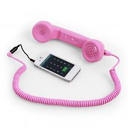 Yubz Talk Mobile USB Pink Retro Cell Phone Universal Handset