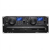 Gemini CDX-2250 Professional Rackmount Twin Dual CD Player
