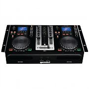 Gemini CDM-3650 Dual MP3 CD Player DJ Mixing Console Deck