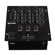 Gemini PS3 USB 3-Channel DJ Mixer USB Battle Mixer