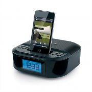 Memorex MI4390 iPod iPhone Docking Station Alarm Clock AUX