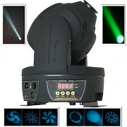 Beamz MHL-30 LED Moving Head Disco Light Spot Scanner DMX