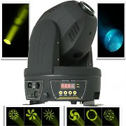 Beamz MHL-60 Spot 60W  LED Moving Head Disco Light 12 DMX