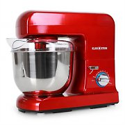 Klarstein Gracia Rossa Kitchen Food Processor Mixer 1000W - Red