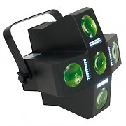 American DJ Fun Factory LED DMX Disco Light - Moonflower &amp; Strobe Effect