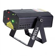 American DJ Micro Star Laser Disco Light Red/Green 200 Beams