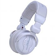 American Audio HP550 Professional DJ Headphones - Snow White