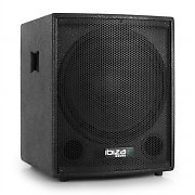 Ibiza Club15 DJ PA Active Subwoofer Bass Bin Speaker 800W