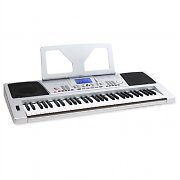 Schubert Sub61S USB MIDI Electric Keyboard 61 Keys - Silver